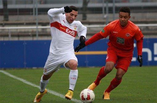 VfB-U19 verliert 1:2 gegen Kaiserslautern