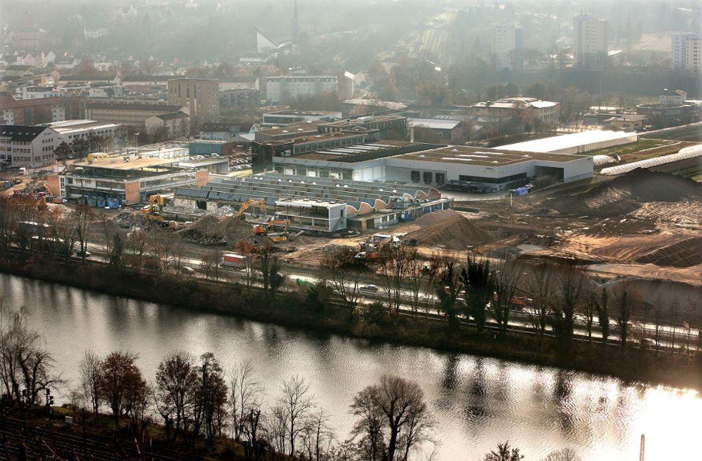 Das Danfoss-Gelände vor dem Abriss der Fabrikhallen. Foto: /Horst Rudel