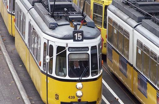 Die Stuttgarter Straßenbahn: Von der Strambe zum Hightech-Zug