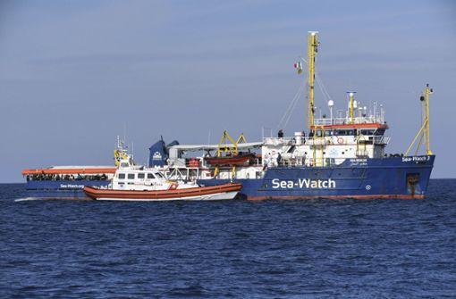 Rettungsschiff legt mit 47 Flüchtlingen in Catania an