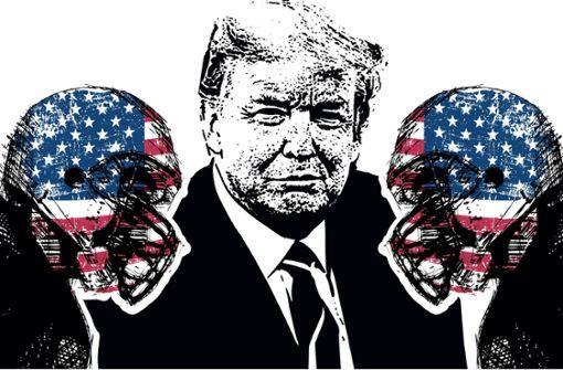 Trump, der Superbowl und die Spaltung der USA
