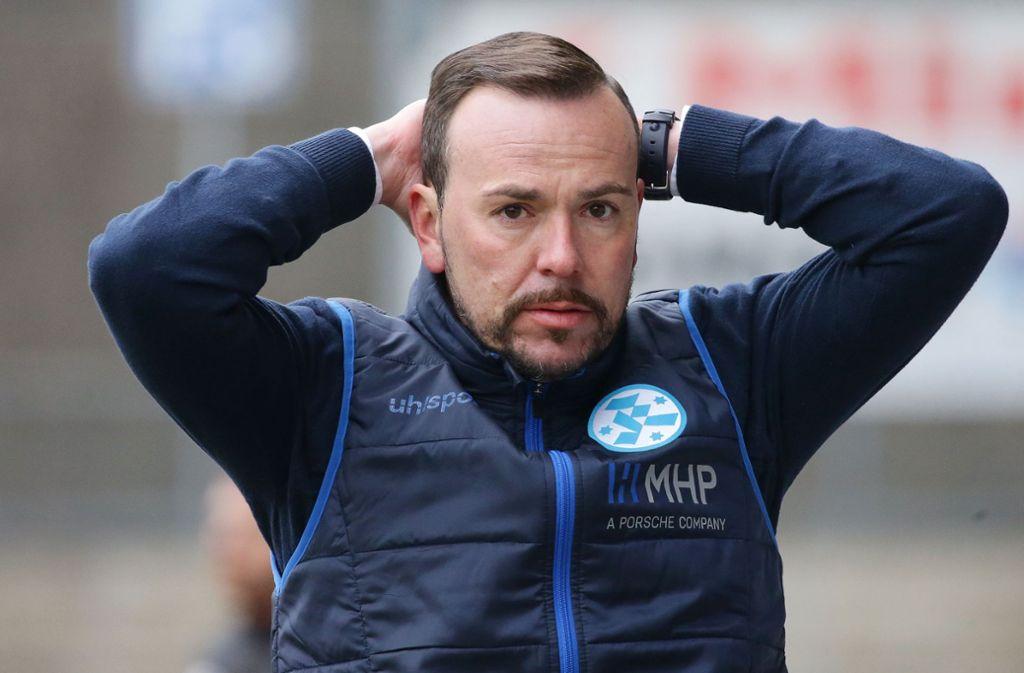 Paco Vaz ist als Trainer der Stuttgarter Kickers zurückgetreten. Foto: Baumann