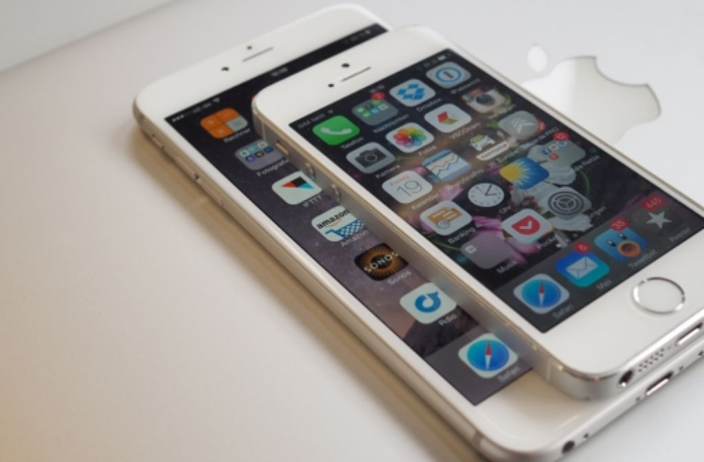 das iphone 6 plus ist deutlich gr er als alle bisherigen. Black Bedroom Furniture Sets. Home Design Ideas
