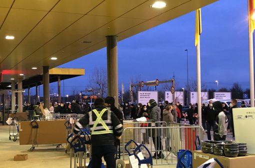 IT-Panne ist schuld am Parkplatz-Chaos vor Ikea