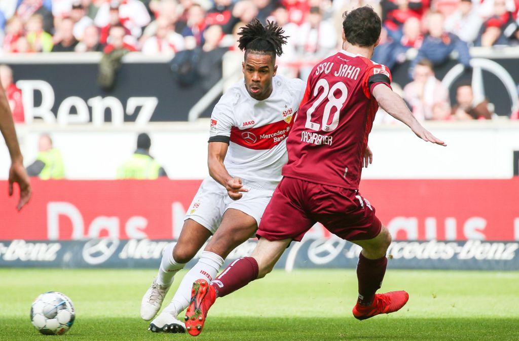 Kaum vom Ball zu stoppen: VfB-Spielmacher Daniel Didavi. Foto: Pressefoto Baumann