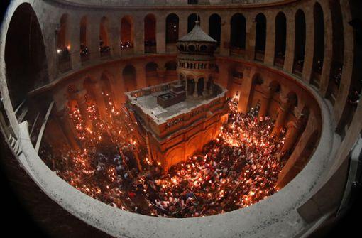 Zoff am Heiligen Grab
