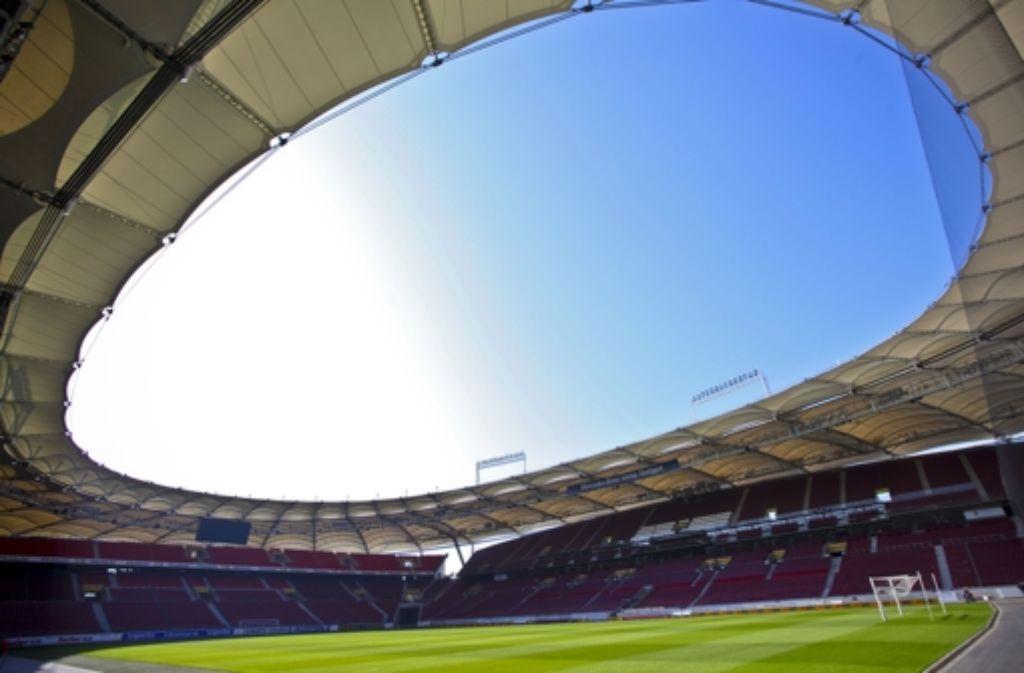 Wird die Mercedes-Benz-Arena bald unter die Erde verlegt? Foto: dpa