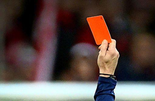 Geldstrafe für Attacke auf Schiedsrichter