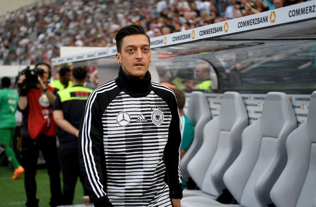 Mesut Özil trat am Sonntag aus der deutschen Nationalmannschaft zurück. Foto: dpa