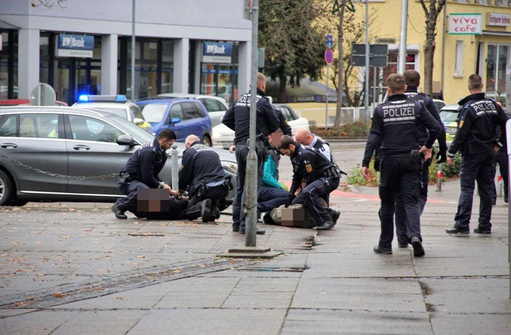 Bei einer Messerstecherei in Wendlingen wurde ein Mann verletzt. Foto: SDMG
