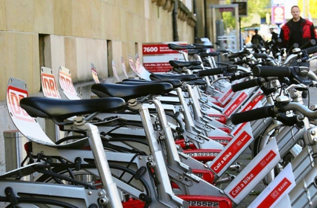 Die Leihräder sollen von der ersten Minute an Geld kosten. Foto: Achim Zweygarth