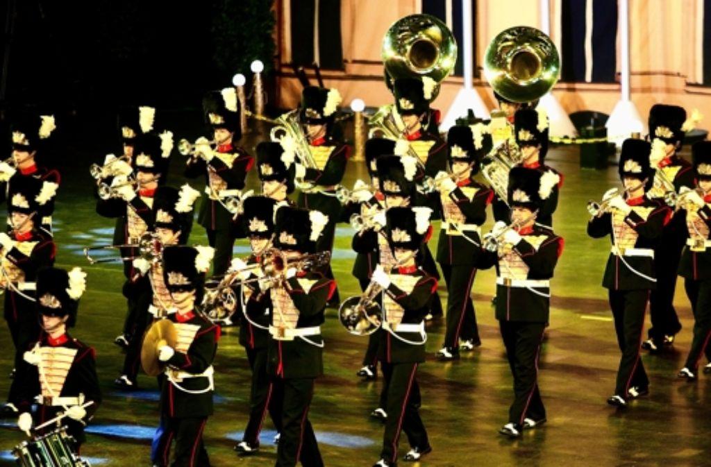 Super Outfit und starke Choreografie bei der Musikparade Foto: Horst Rudel