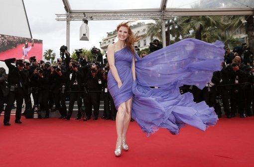 Jessica Chastain vom Winde verweht