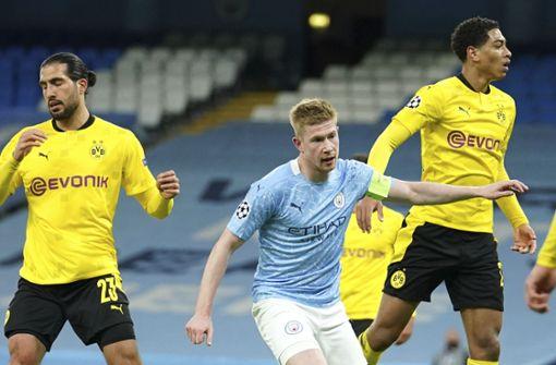 Borussia Dortmund trotz Pleite mit guten Chancen auf Halbfinale