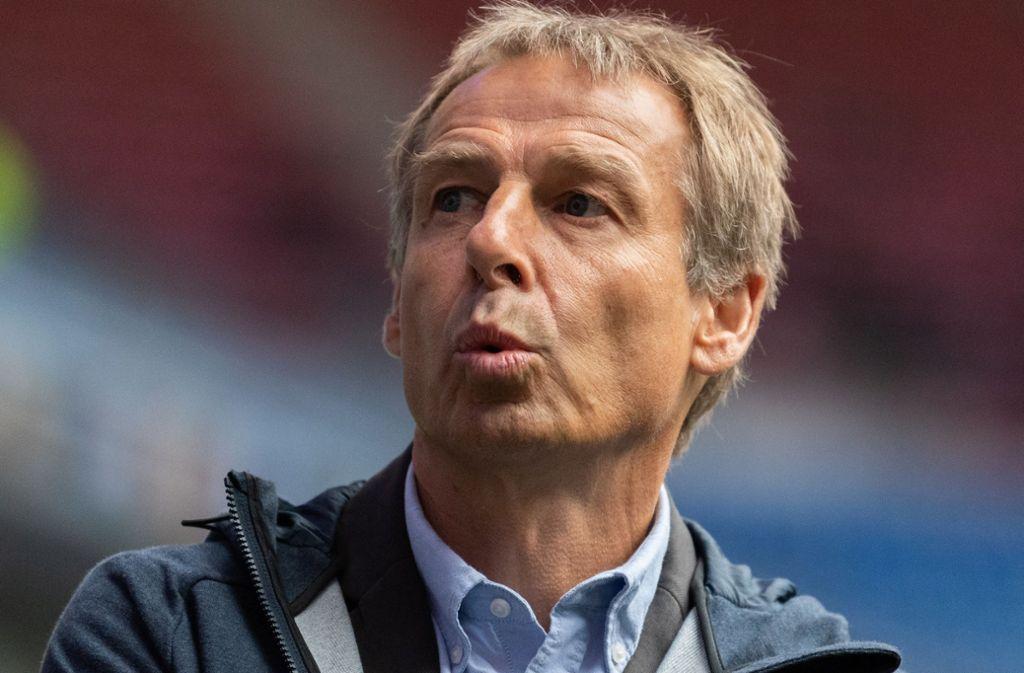 Jürgen Klinsmann findet, dass der VfB Stuttgart die richtige Entscheidung getroffen hat. Foto: dpa/Robert Michael