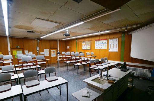 Schadstoffe im Bildungszentrum West