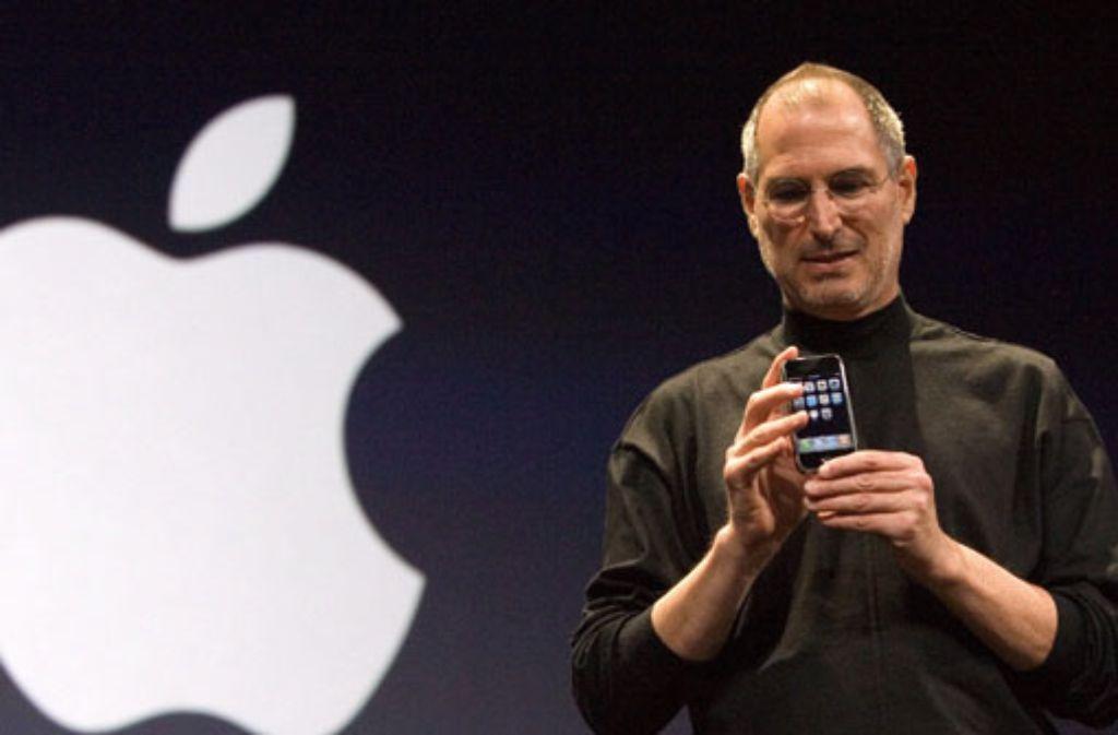 Steve Jobbs und Apple sind untrennbar miteinander verbunden. Er hat die Marke geprägt. Foto: dpa