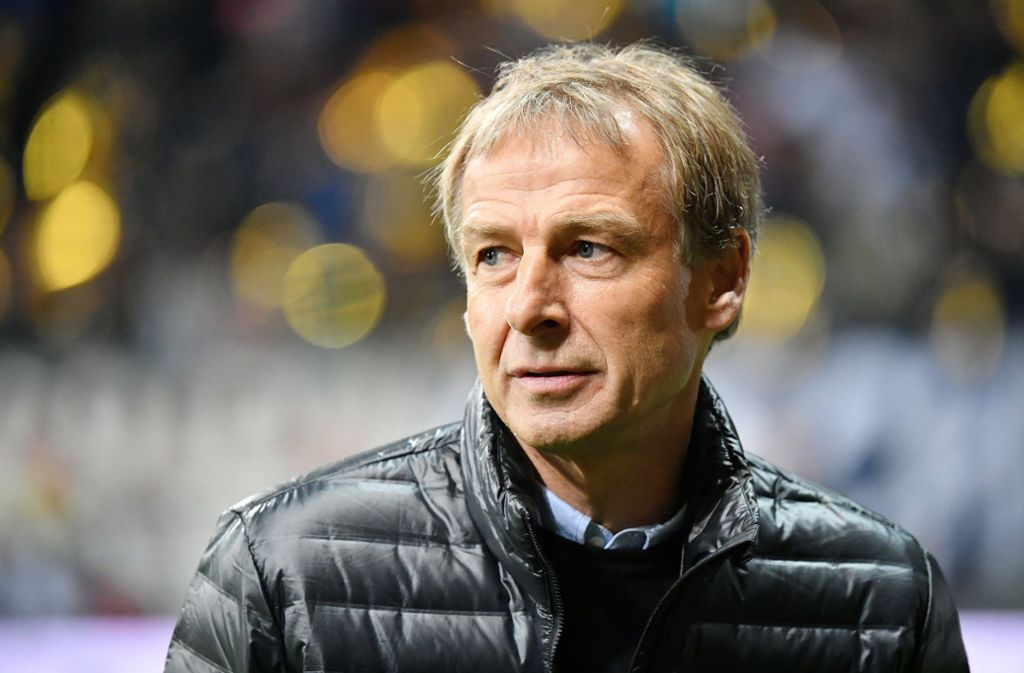 Jürgen Klinsmann ist nun als Trainer von Hertha BSC untergekommen. Foto: imago/Eibner