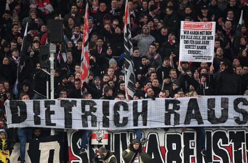 VfB-Fans sticheln erneut gegen Wolfgang Dietrich
