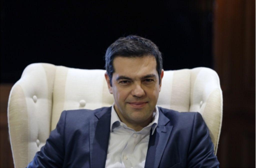Ministerpräsident Alexis Tsipras und seine Minister haben mit provozierenden Sprüchen inzwischen viele Regierungen in den EU-Hauptstädten gegen sich aufgebracht. Foto: AP