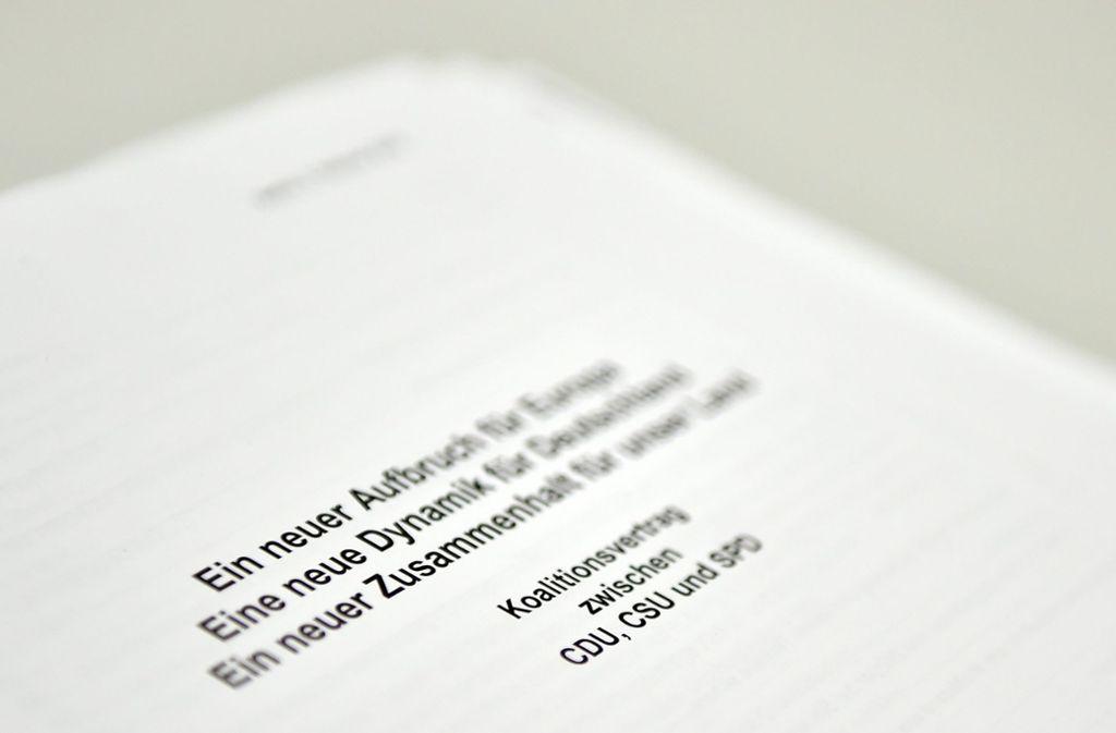 Umweltverbände wittern Ungemach im Koalitionsvertrag. Foto: dpa