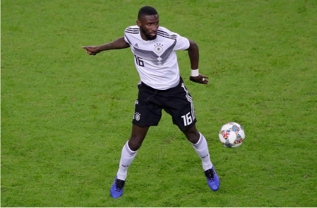 Antonio Rüdiger im DFB-Dress. Foto: Bongarts