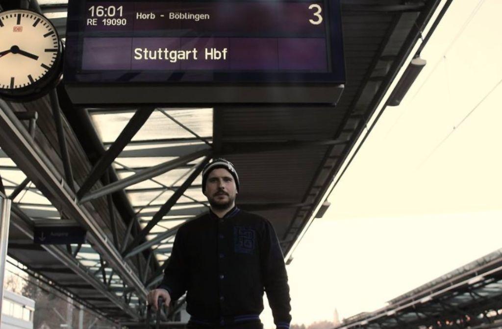 Für Marcel Jurincic a.k.a. Marcelo Wallace gings nach über zwei Jahren Hamburg zurück nach Stuttgart. Foto: privat