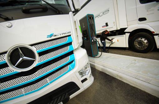 Was   Daimler sich vom E-Actros verspricht