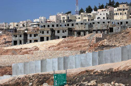 Netanjahu setzt massiven jüdischen Siedlungsbau durch