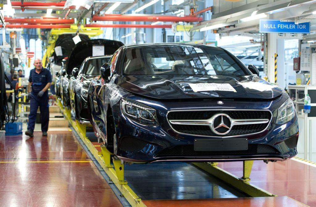 Wo viel Industrie ist, werden gute Löhne gezahlt. Für Baden-Württemberg bedeutet das ... Foto: dpa