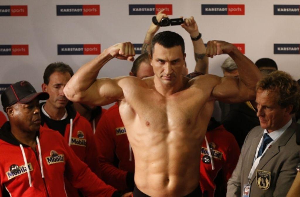 Wladimir Klitschko will seine Stärke zeigen. Foto: dapd