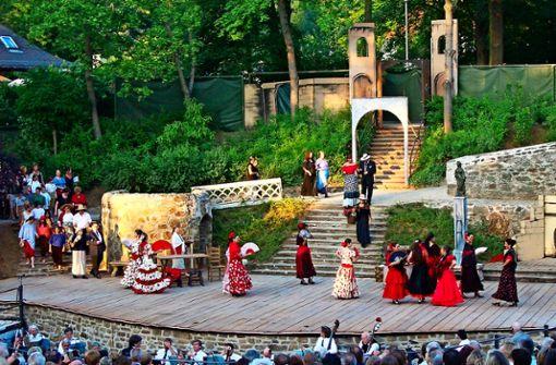 """Das Ensemble Venezia Festival Opera bringt """"Carmen"""" auf den Killesberg."""