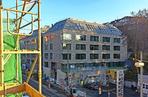 Zwei Neubauten verändern den Stöckach
