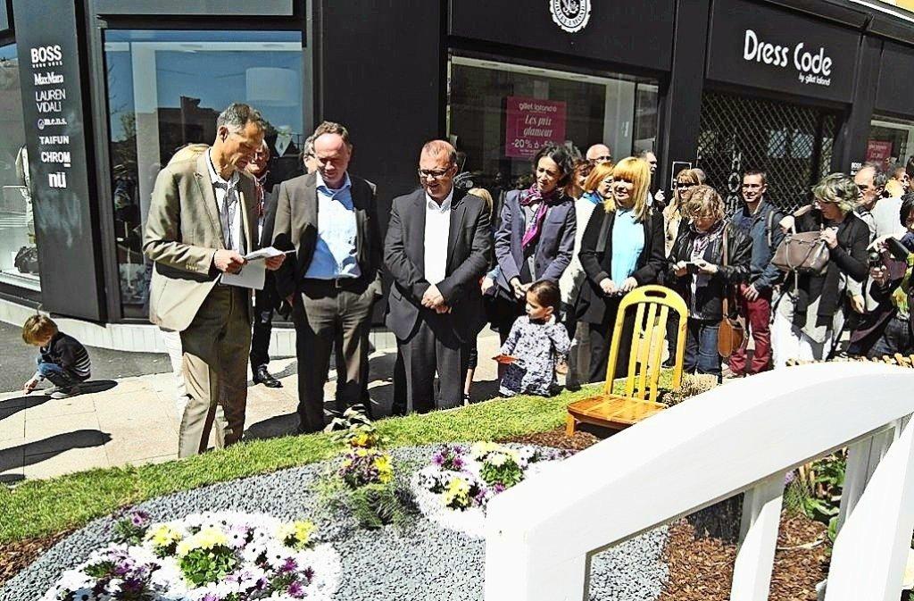 Das Belforter Beet findet Anerkennung auf dem Blumenmarkt Belflorissimo. Foto: privat