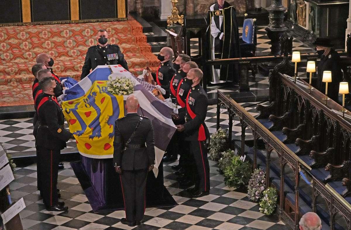 Großbritannien nimmt Abschied von Prinz Philip – coronabedingt im kleinen Kreis. Foto: dpa/Yui Mok