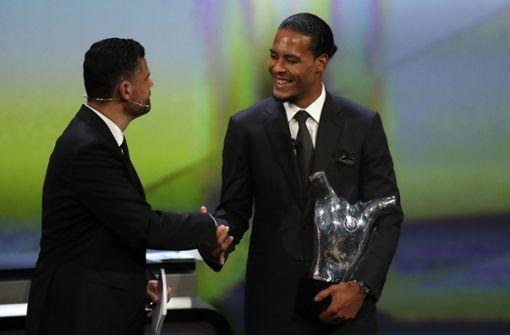 Van Dijk zu Europas Fußballer des Jahres gewählt