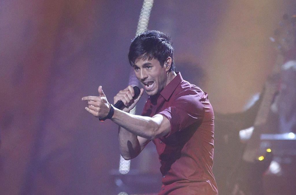 """Mit dem Lied """"Bailamos"""" lieferte  Enrique Iglesias den musikalischen Hintergrund für den Sommer. Foto: dpa"""