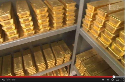 Bundesbank öffnet ihre Goldtresore