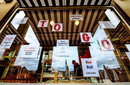 Betriebe verunsichert – dickes Minus durch   To-go-Service?