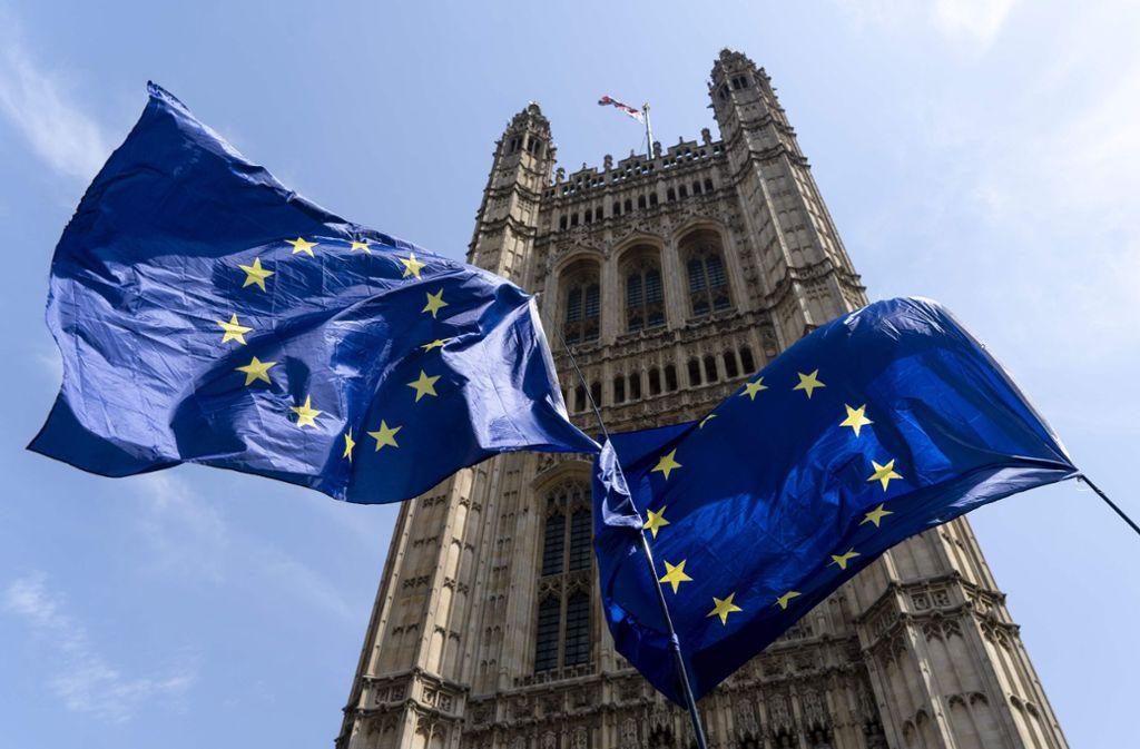 Es wird immer wahrscheinlicher, dass Großbritannien ohne Abkommen aus der EU ausscheidet. Foto: AFP