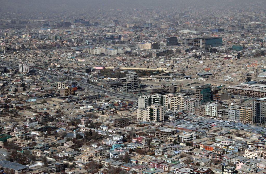 Kabul wurde wieder von einem Anschlag erschüttert (Symbolbild). Foto: dpa/S. Sabawoon