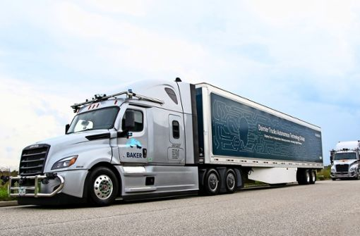 Daimlers Traum vom fahrerlosen Truck