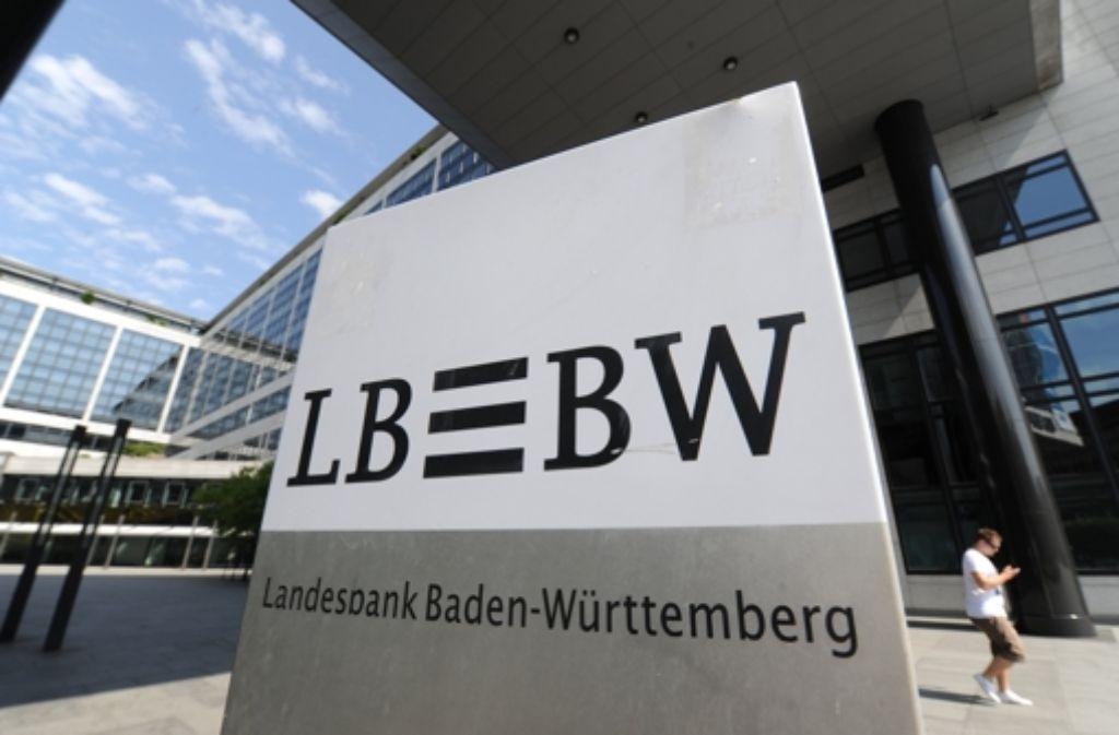 Vor Gericht: die frühere LBBW-Spitze soll die Lage der Bank beschönigt haben. Foto: dpa