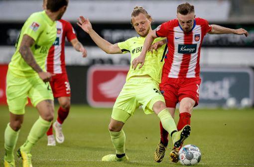 Heidenheim gewinnt 1:0 gegenWehenWiesbaden