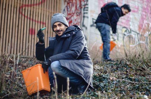 Weltweite Aufräumaktion – auch in Stuttgart wird Müll eingesammelt
