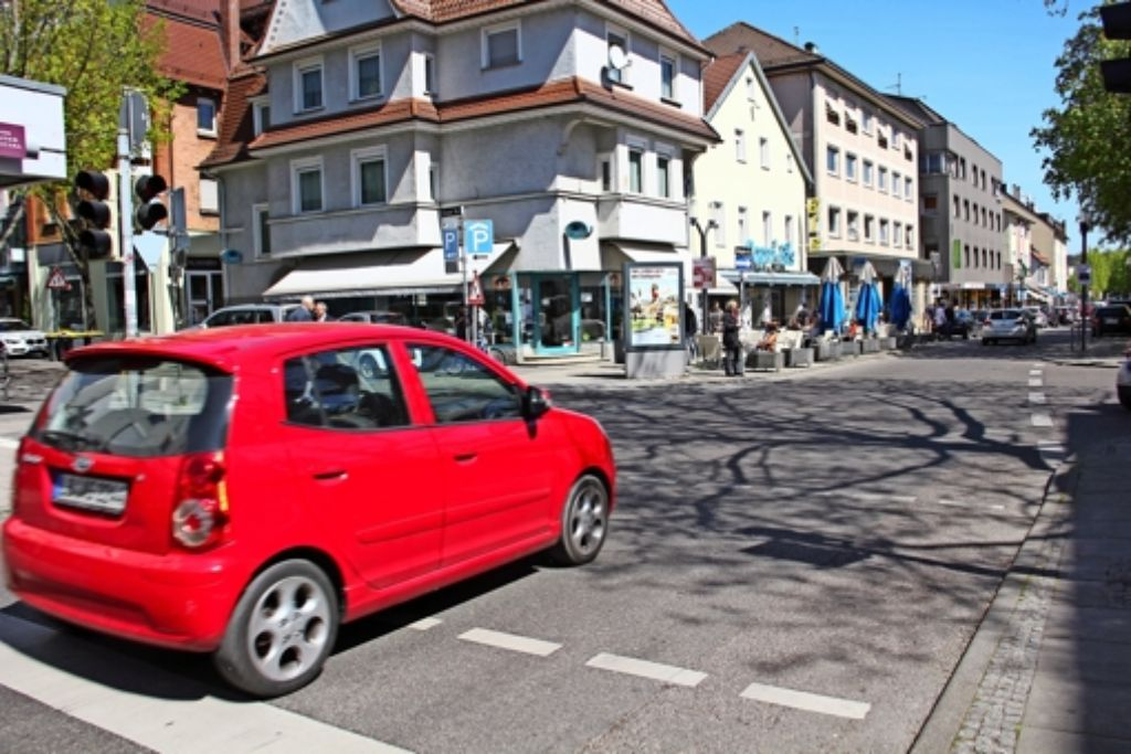 Die Kreuzung Stuttgarter Foto: Georg Friedel