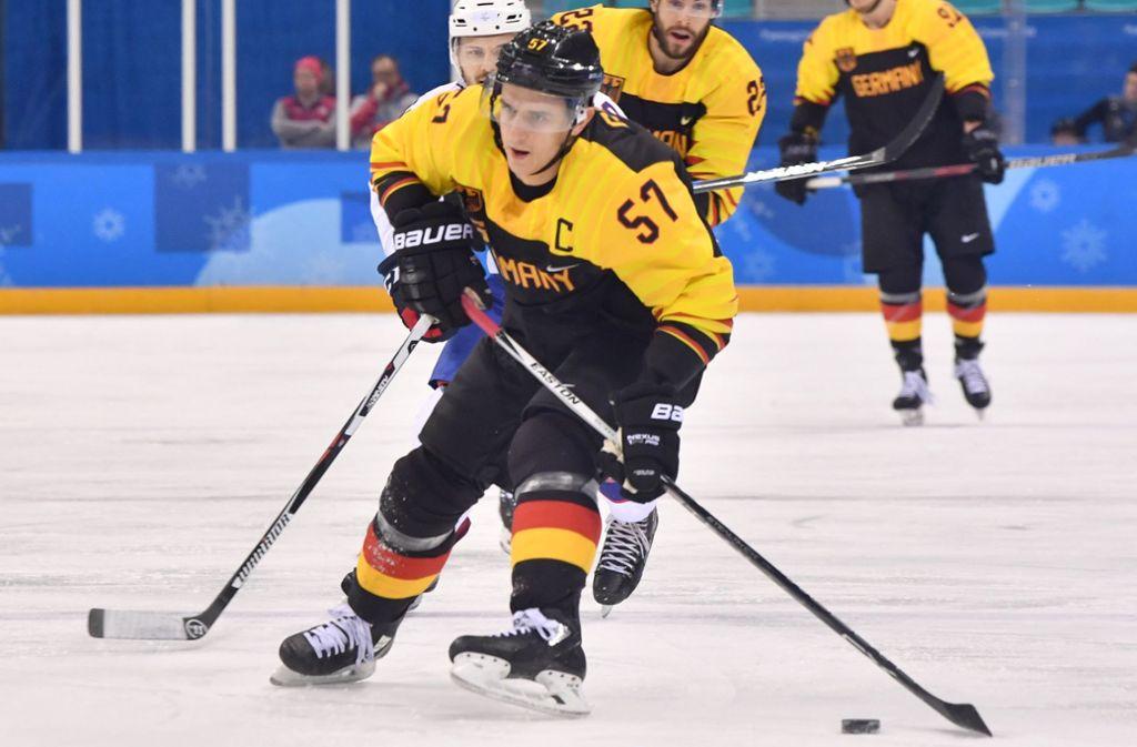 Bei den Olympischen Spielen führte Marcel Goc das deutsche Team zur Silbermedaille. Foto: dpa
