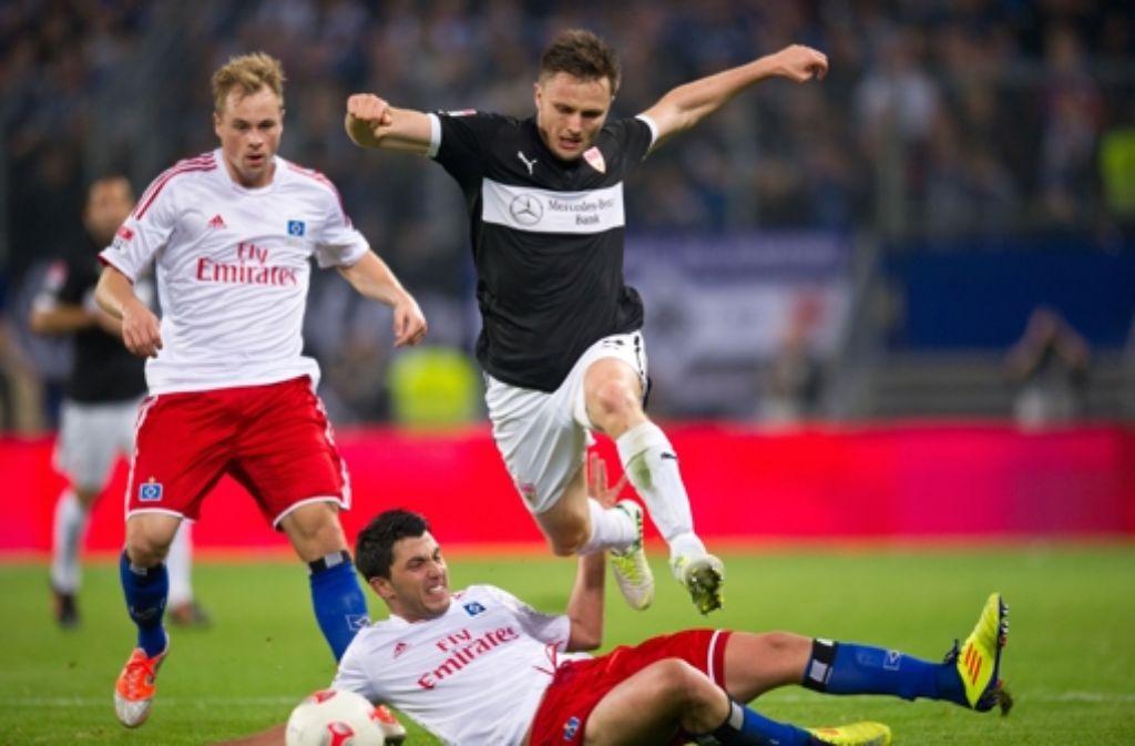 Der VfB-Profi William Kvist ist derzeit obenauf. Foto: Baumann