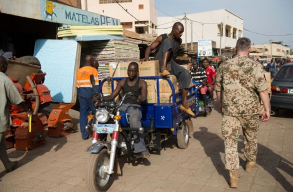 Bamako, Malis Hauptstadt  – hier erwarten den Besucher Abenteuer. Foto: dpa