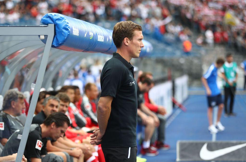 Hannes Wolf und der VfB Stuttgart treffen im DFB-Pokal auf den 1. FC Kaiserslautern. Foto: Bongarts